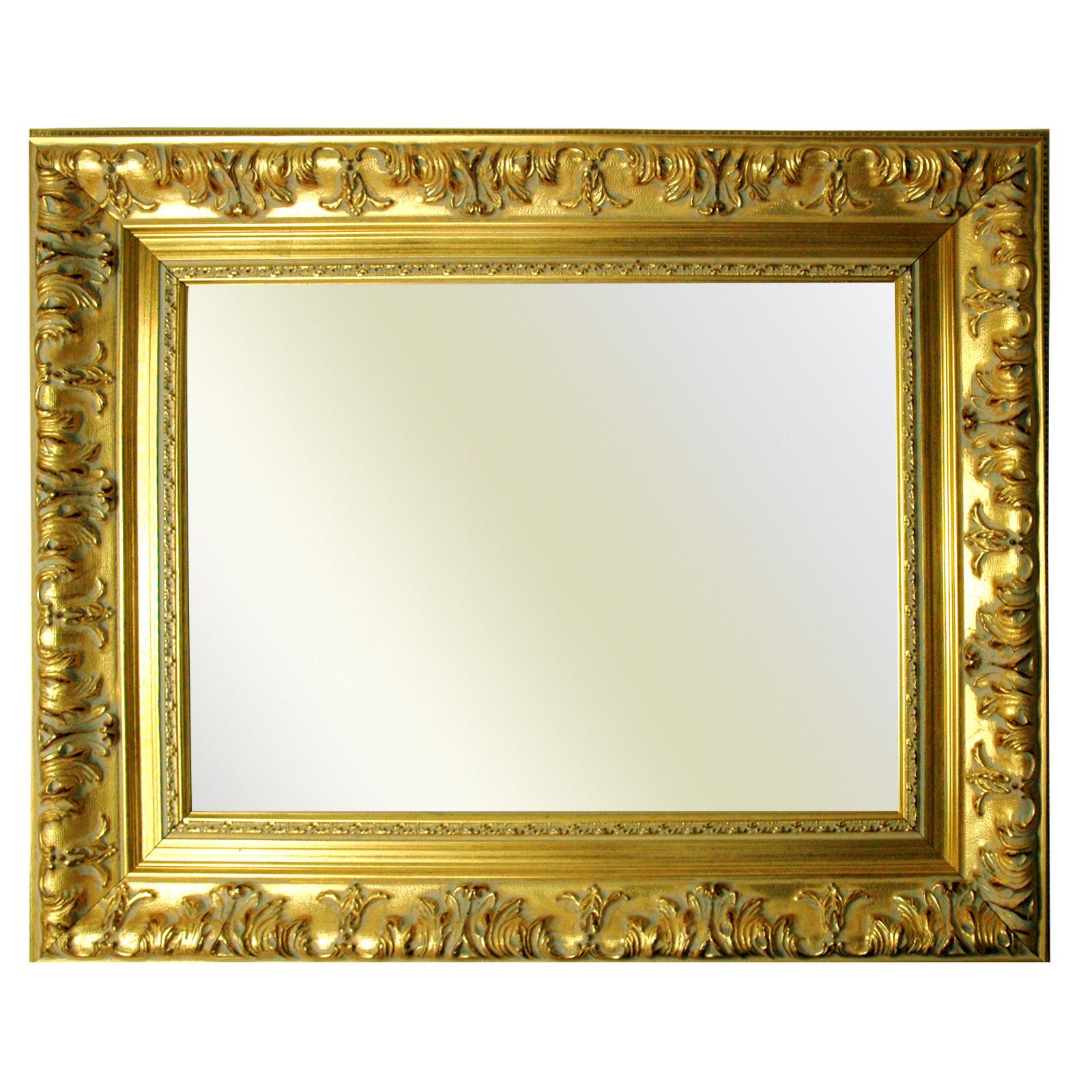 Cornice barocca oro finemente decorato 979 oro diverse for Cornici per foto in vetro