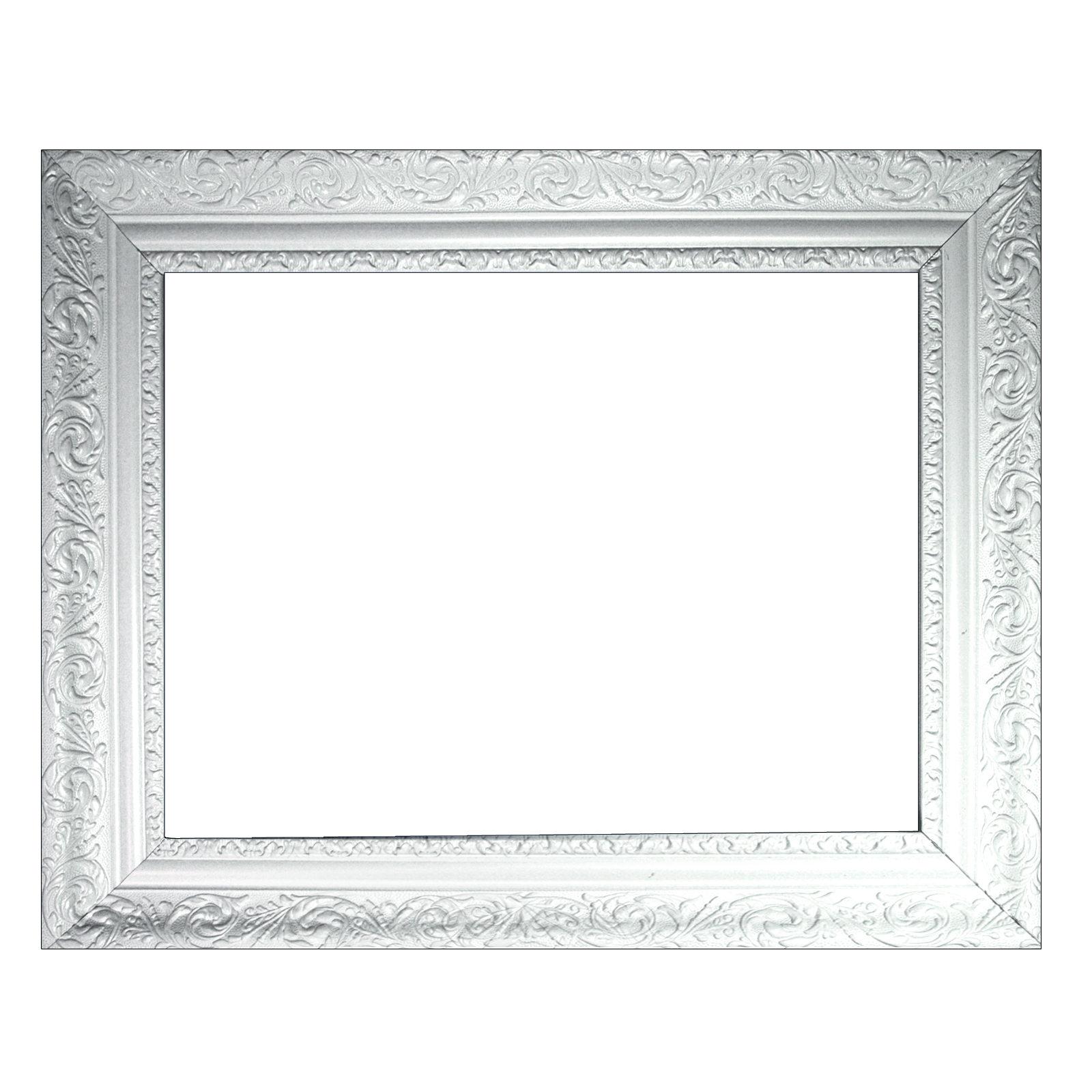 cadre baroque blanc finement d cor es 466 lfi diff rentes variantes ebay. Black Bedroom Furniture Sets. Home Design Ideas
