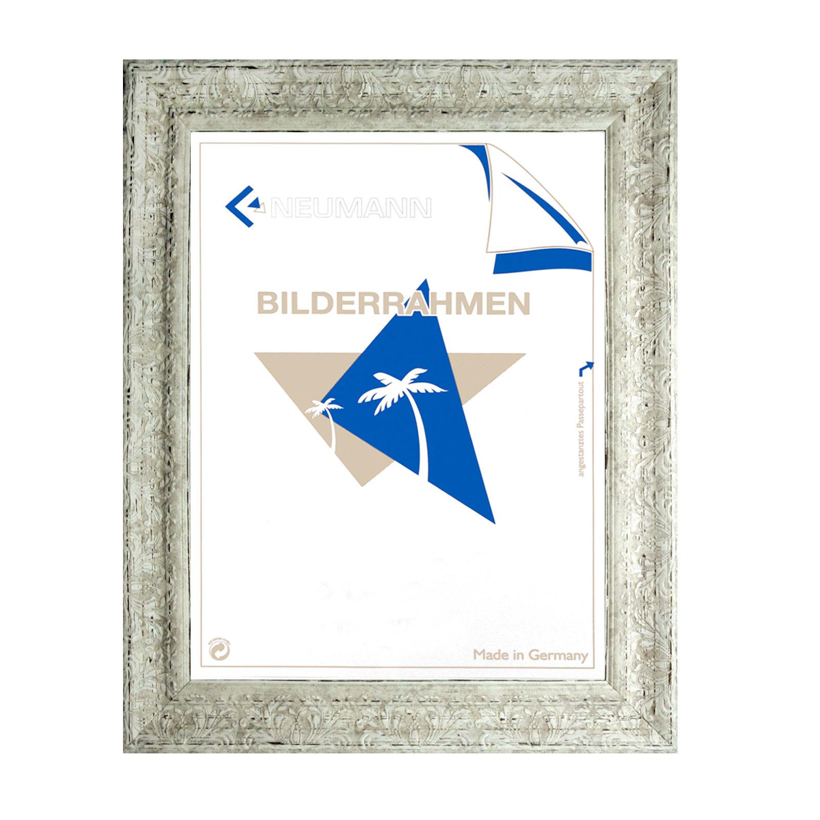 Cadre Vide Neumann Bilderrahmen Cadre Baroque Blanc Finement d/écor/é 843 AVO 18x24 cm
