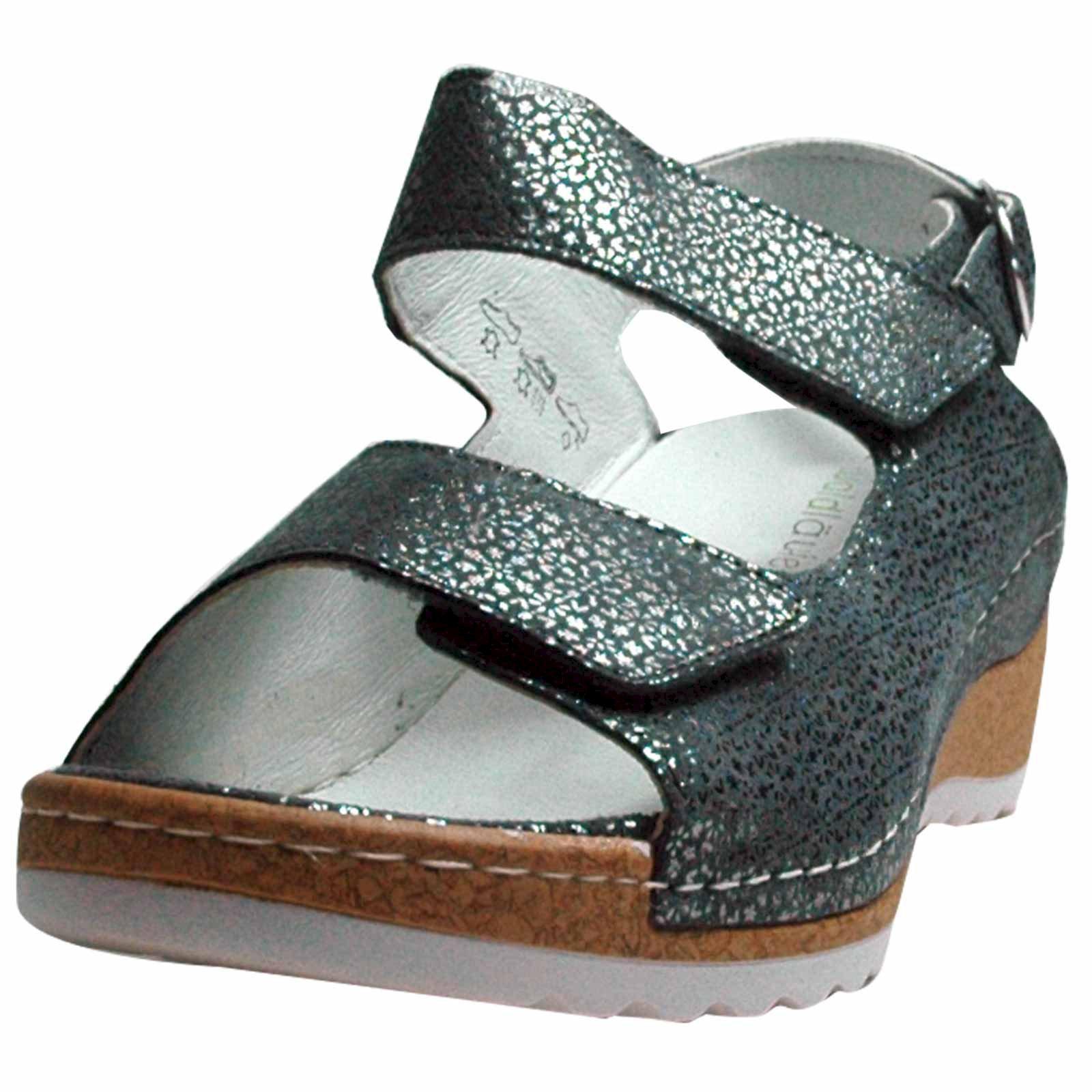 waldl ufer damen sandalen hanila tago cement weite h ebay. Black Bedroom Furniture Sets. Home Design Ideas