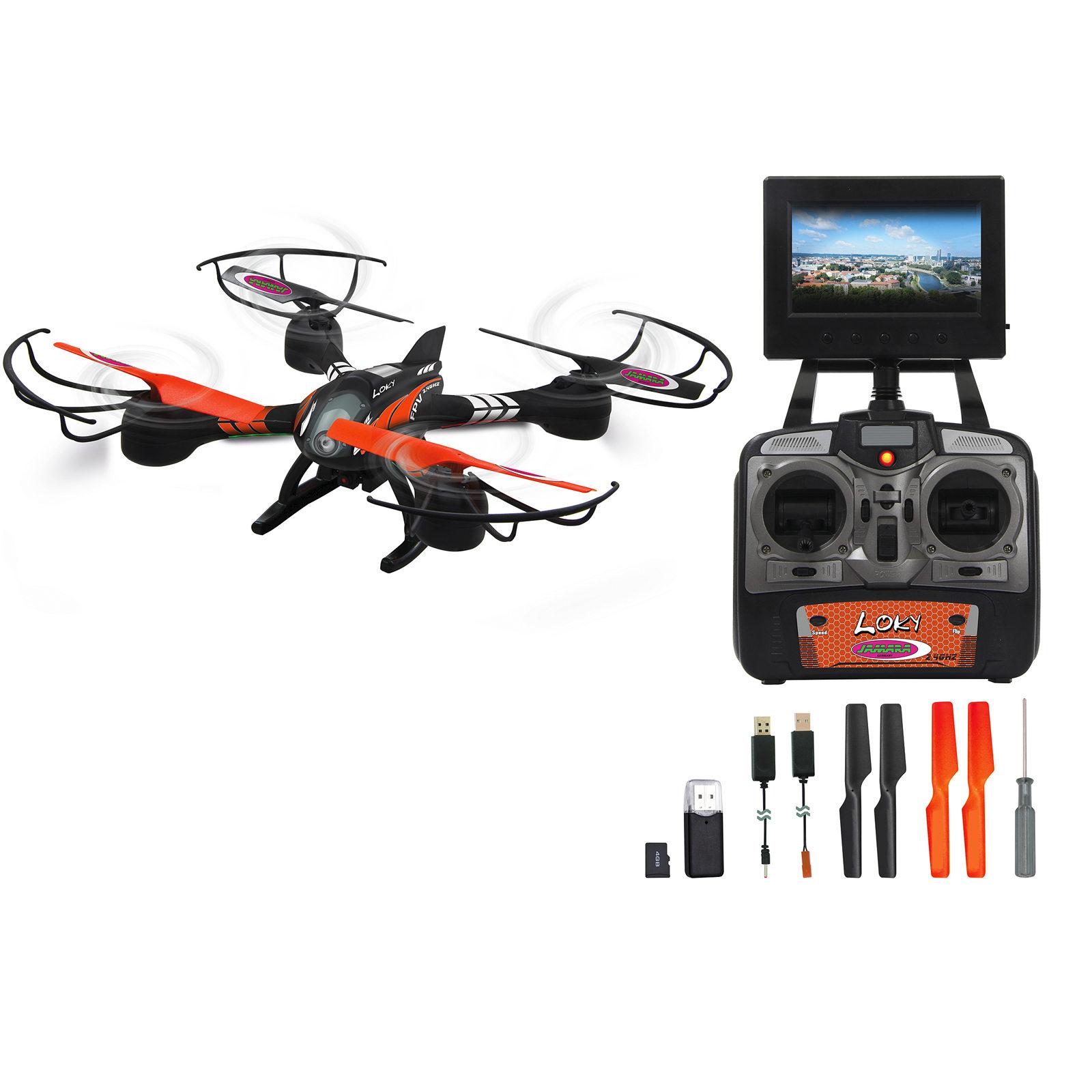 Jamara Loky FPV AHP + Quadrocopter 422001, with Camera 4042774416904 ...