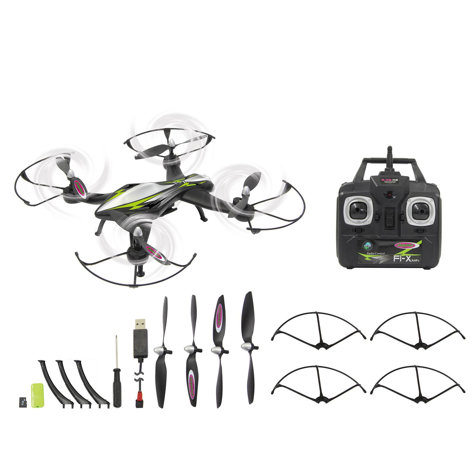 Jamara F1X Quadrocopter Altitude HD AHP with HD Camera 422010 ...