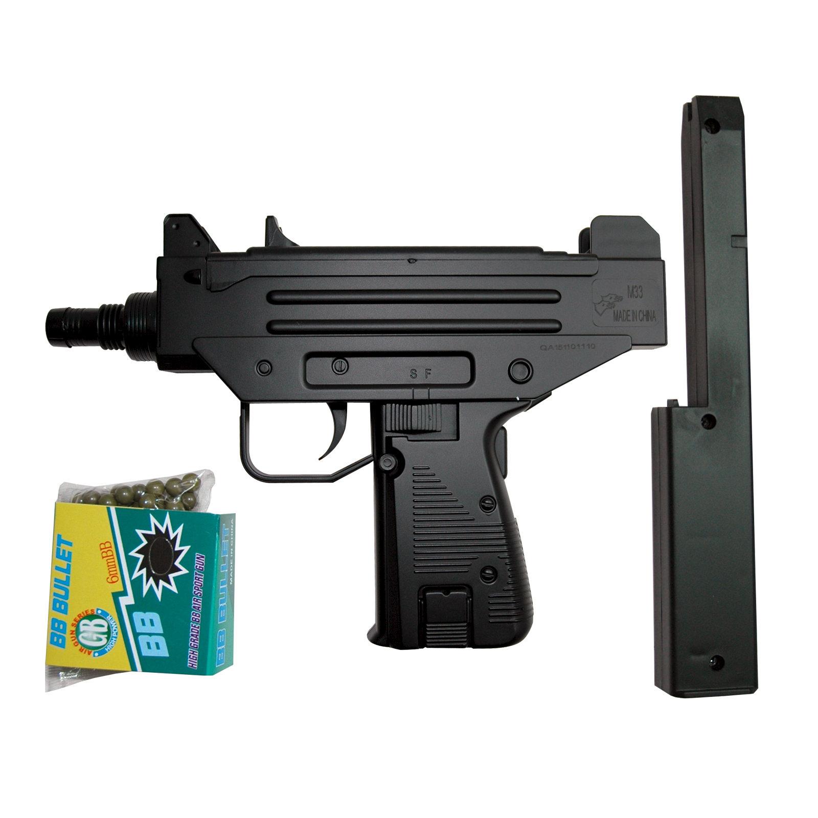 Rayline Spielzeugpistole G11 Metall Inklusive Magazin Und Munition Schwarz