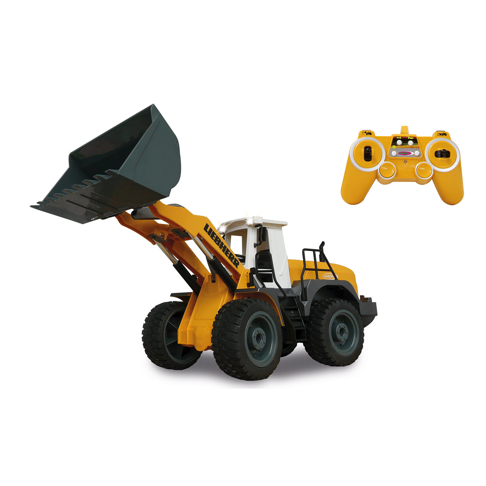 Details about Jamara Wheel Loader Liebherr 564 405007, with Remote Control