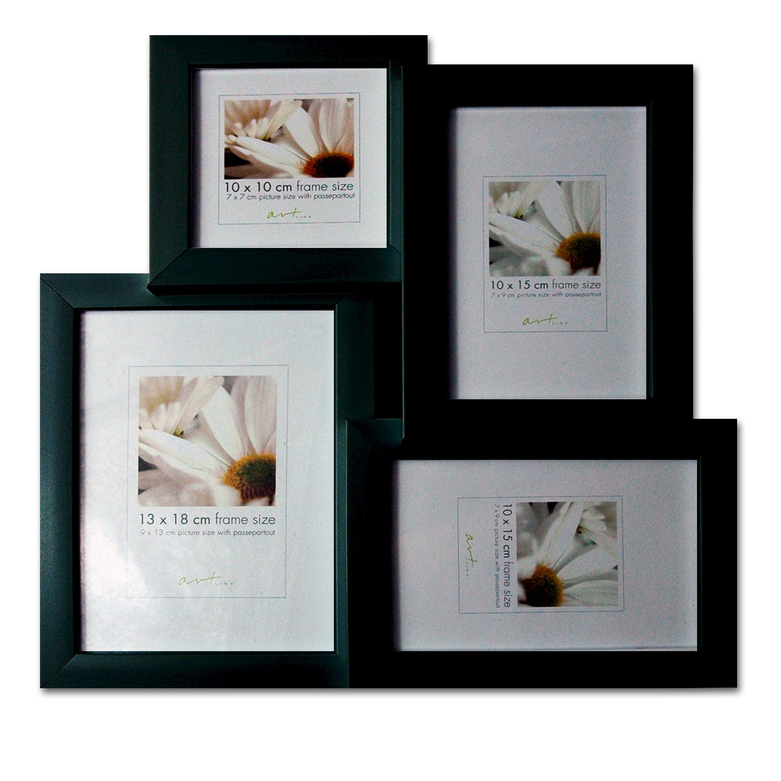 Marcos galería / marco collage, 2 de ancho. Variantes, 2 colores ...