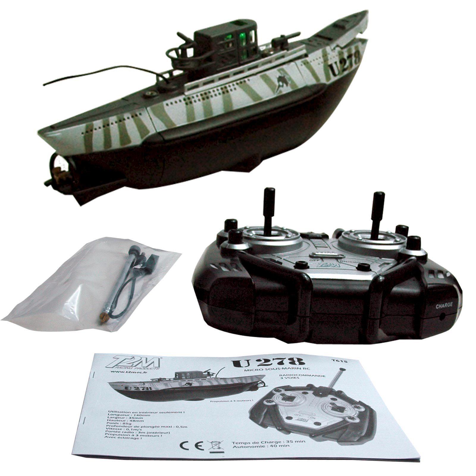Ferngesteuertes U-Boot U278 von T2M mit Beleuchtung | eBay