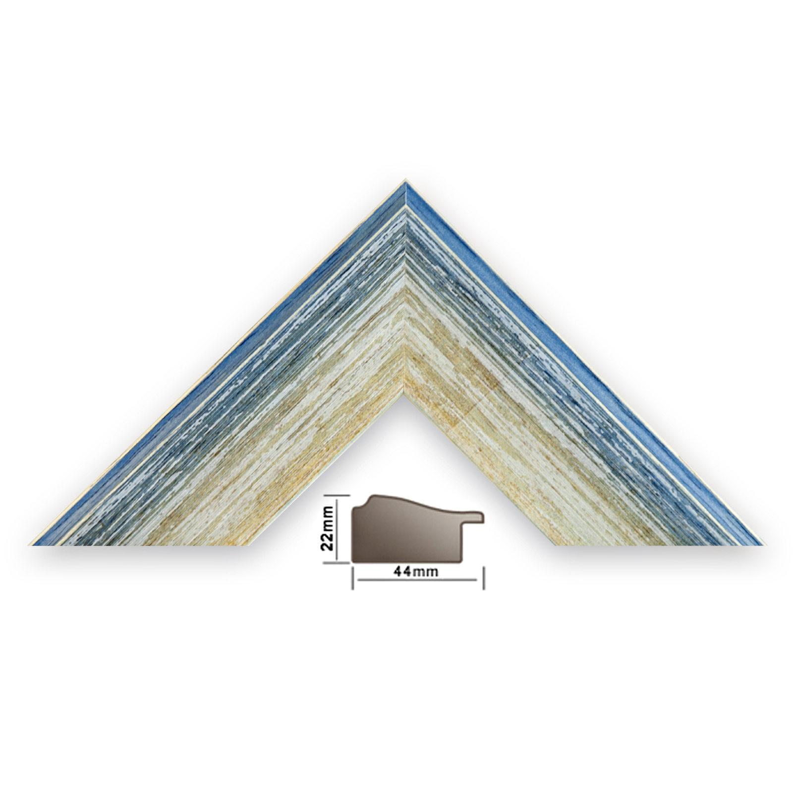 bilderleiste baltimore 342 blu,blau länge 1m profilbreite 44mm