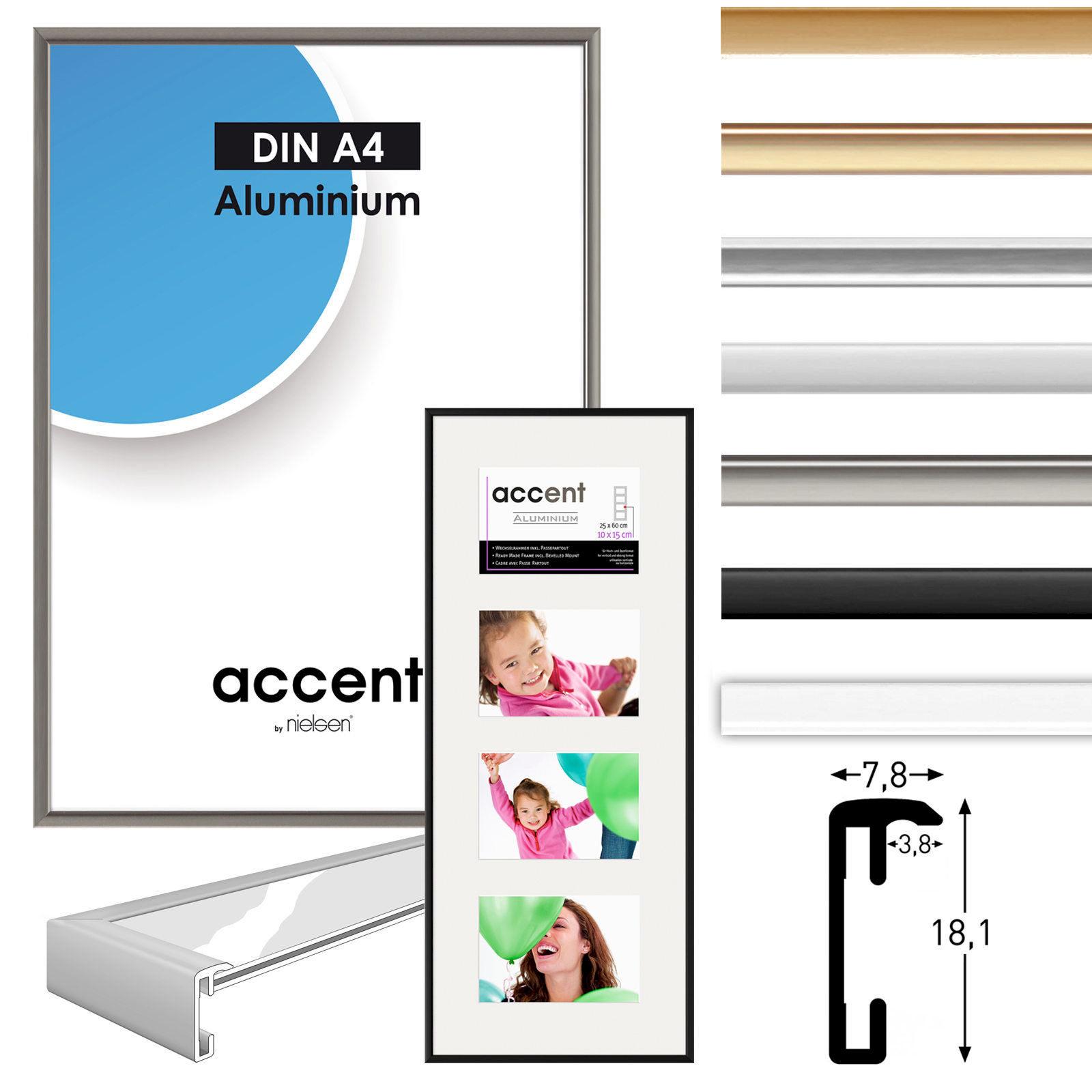 Marco de aluminio ACCENT, caddy de aluminio, imagen marcos de ...