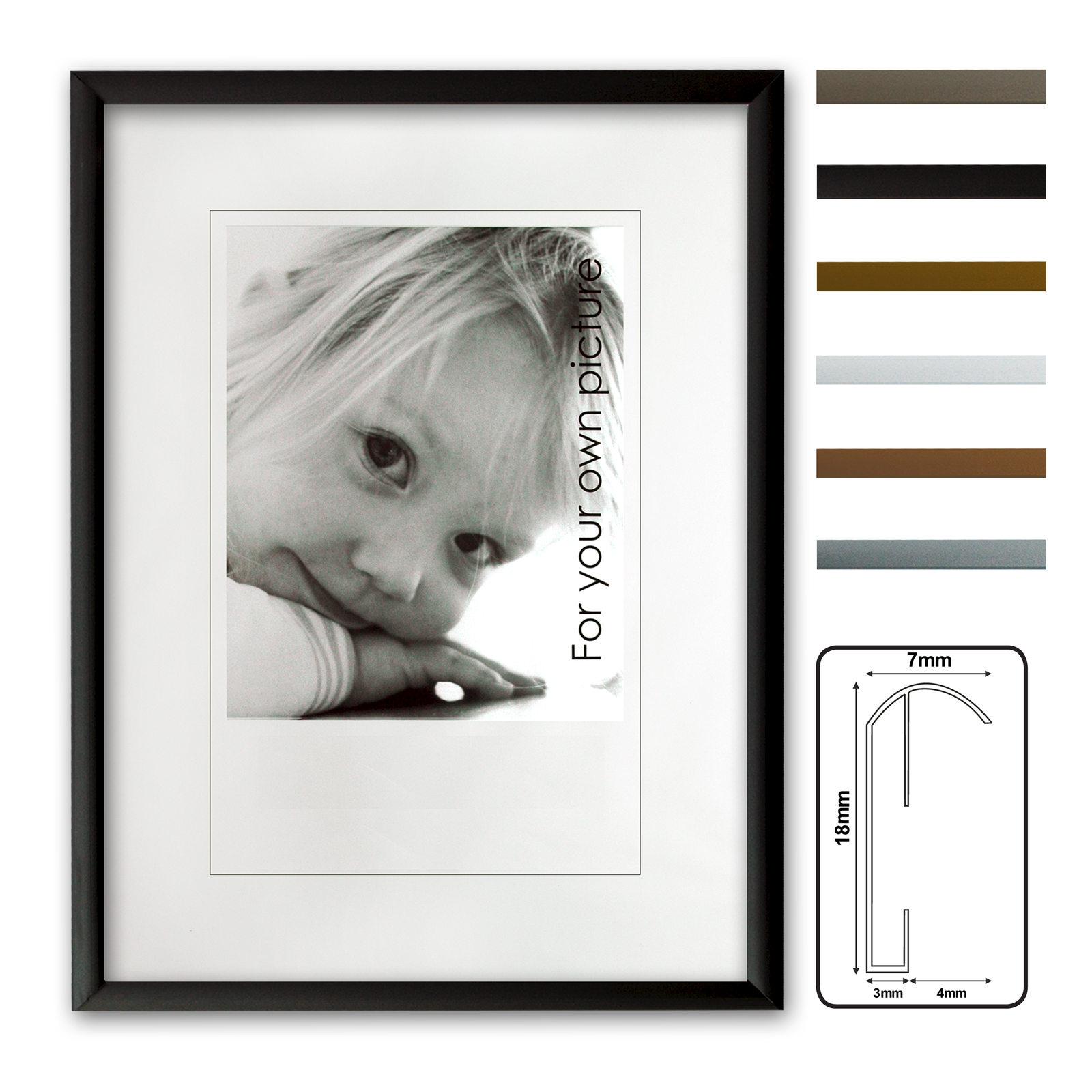 Kingsale® marco de aluminio, marcos de aluminio,6 colores diferentes ...