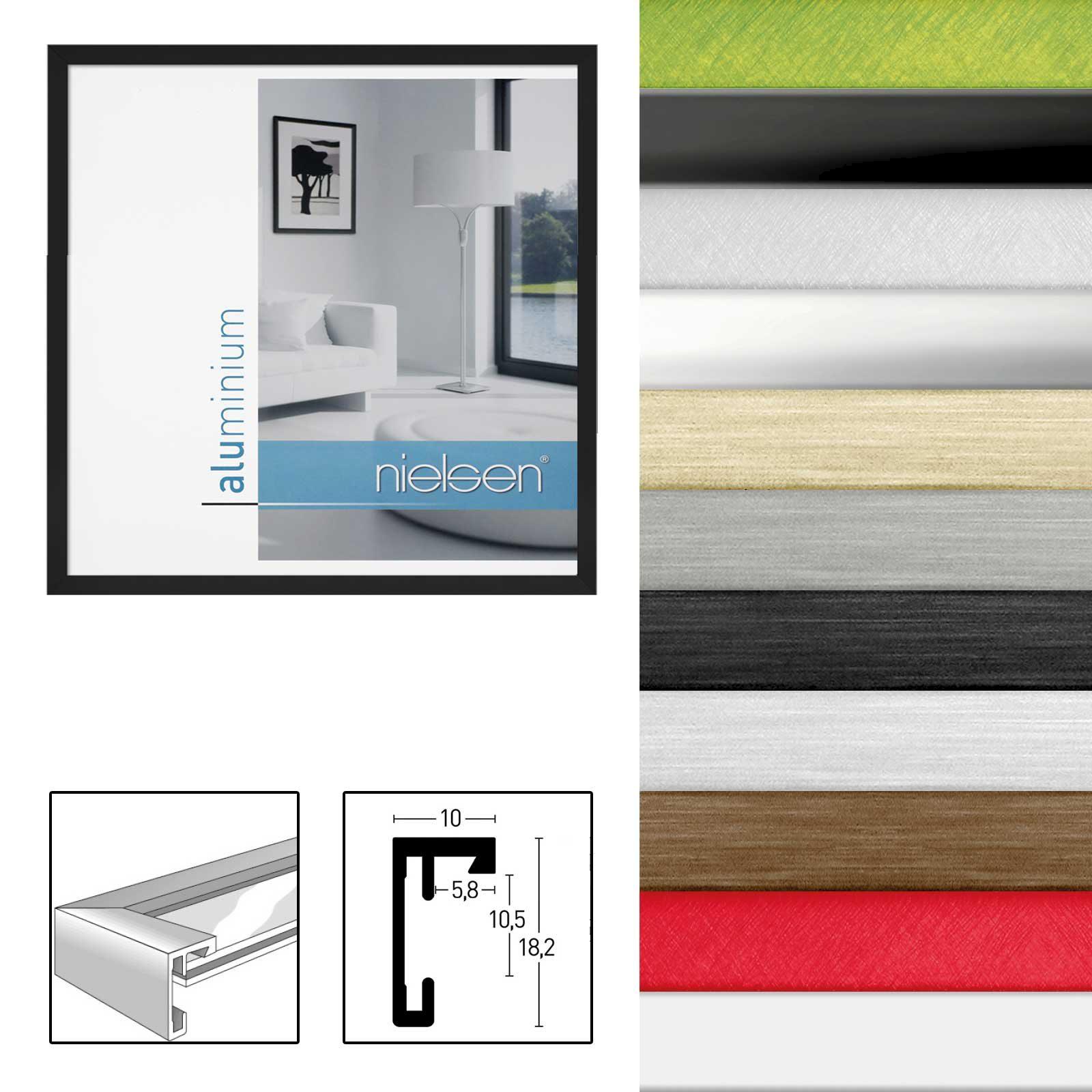 Nielsen Alurahmen C2 in verschiedenen Farben und Größen