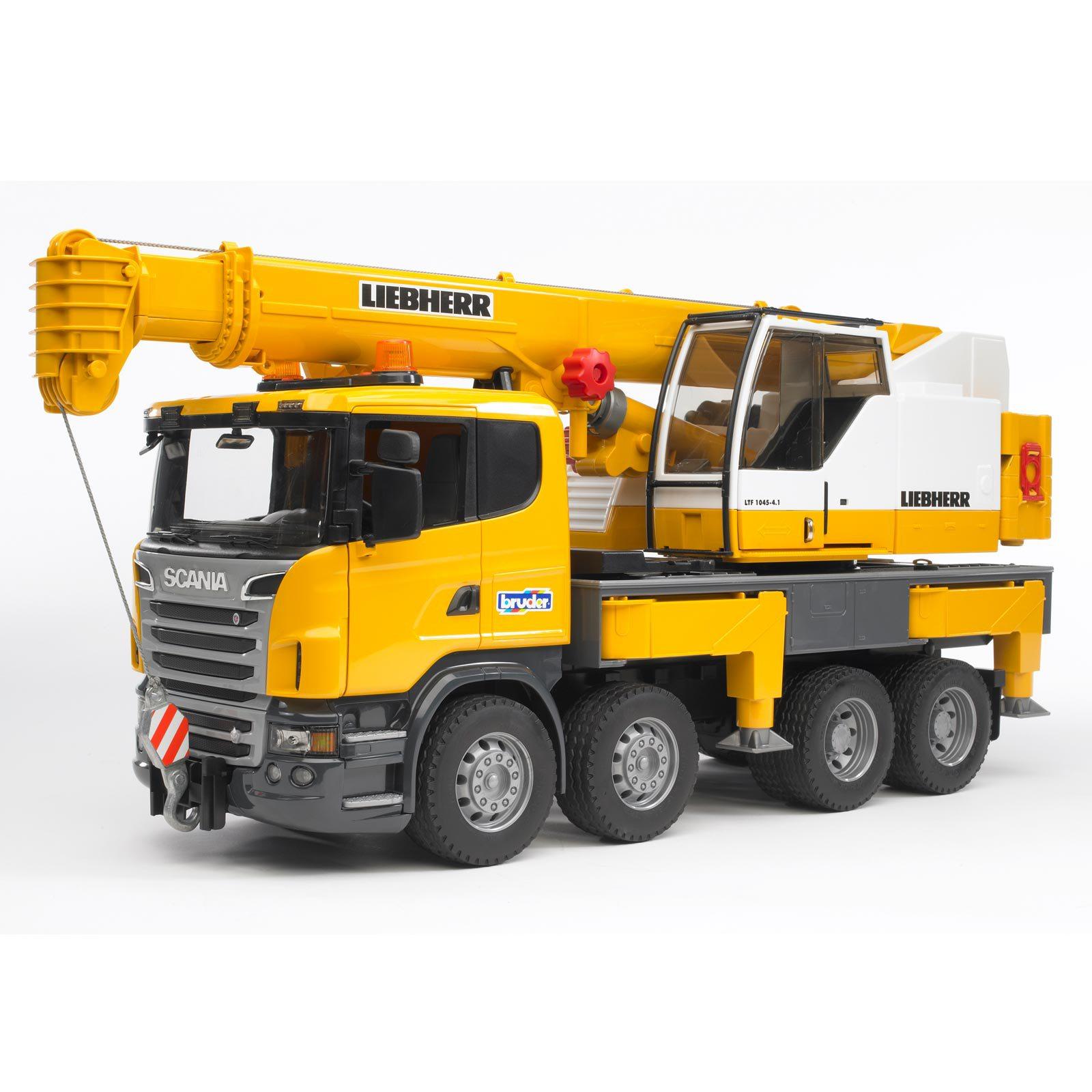 Scania Liebherr camion grue
