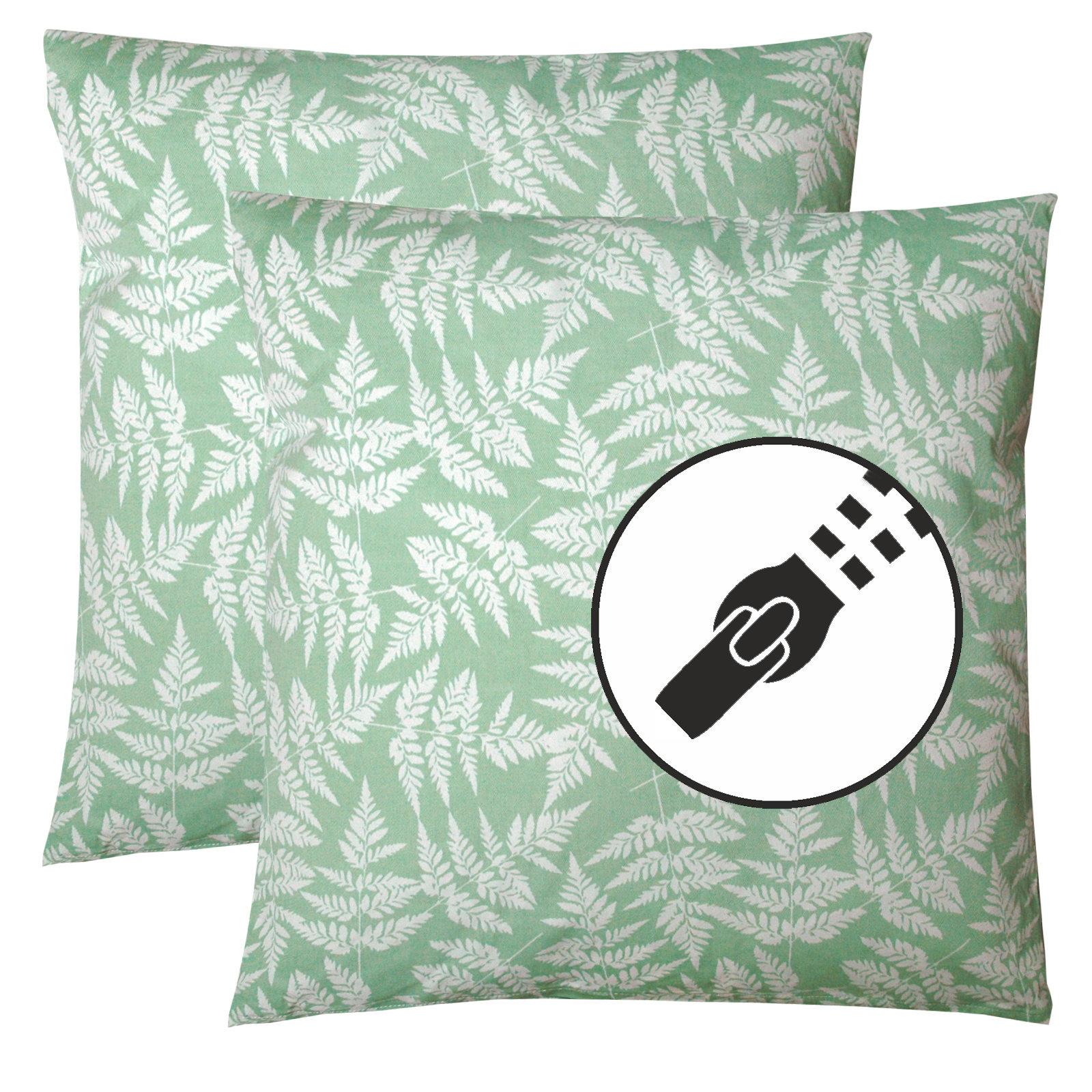 dekokissen set sofakissen 45x45 kissen f r couch dekokissen f r sofa 2er set ebay. Black Bedroom Furniture Sets. Home Design Ideas