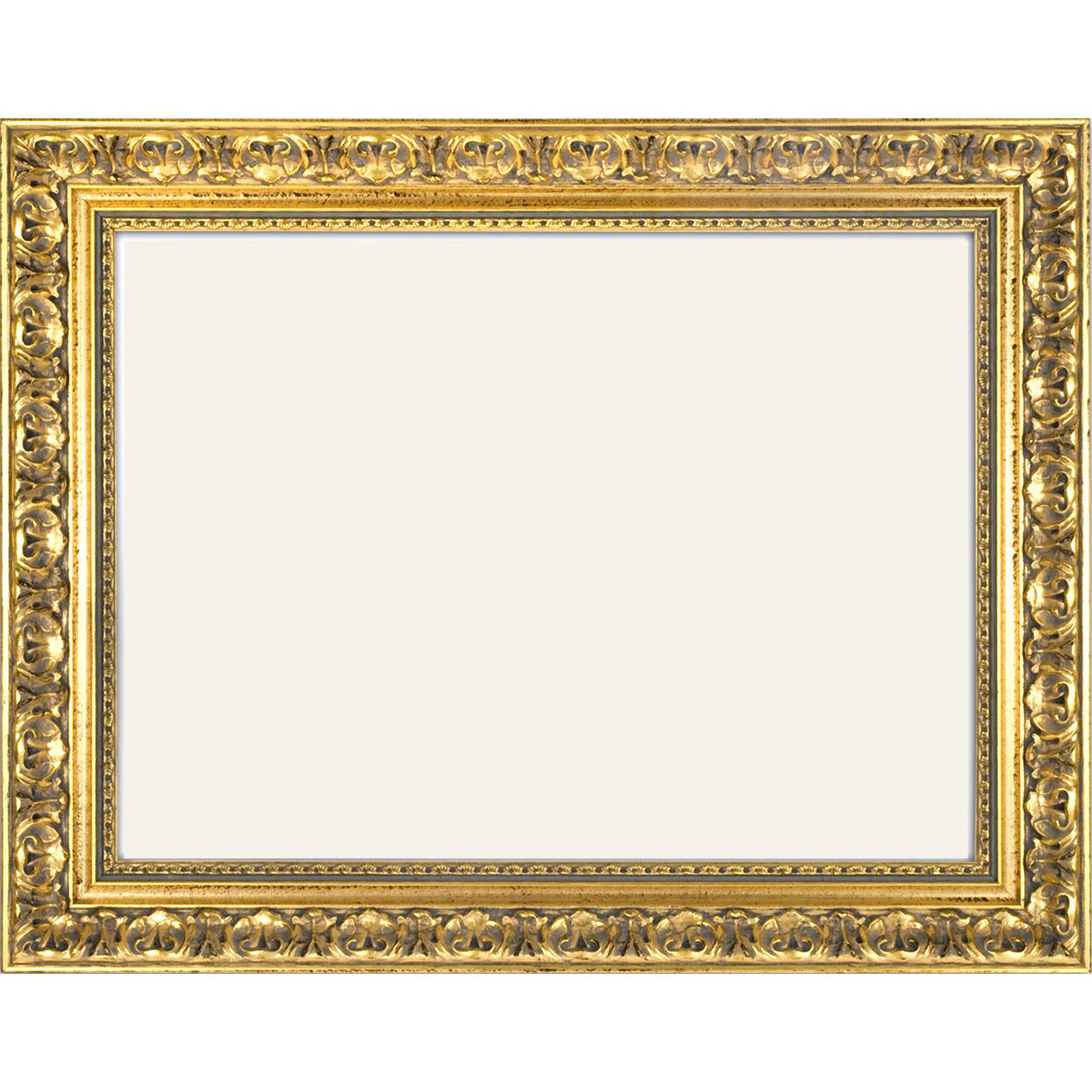Barockrahmen 972 ORO, gold verziert, ohne Glas und Rückwand ...