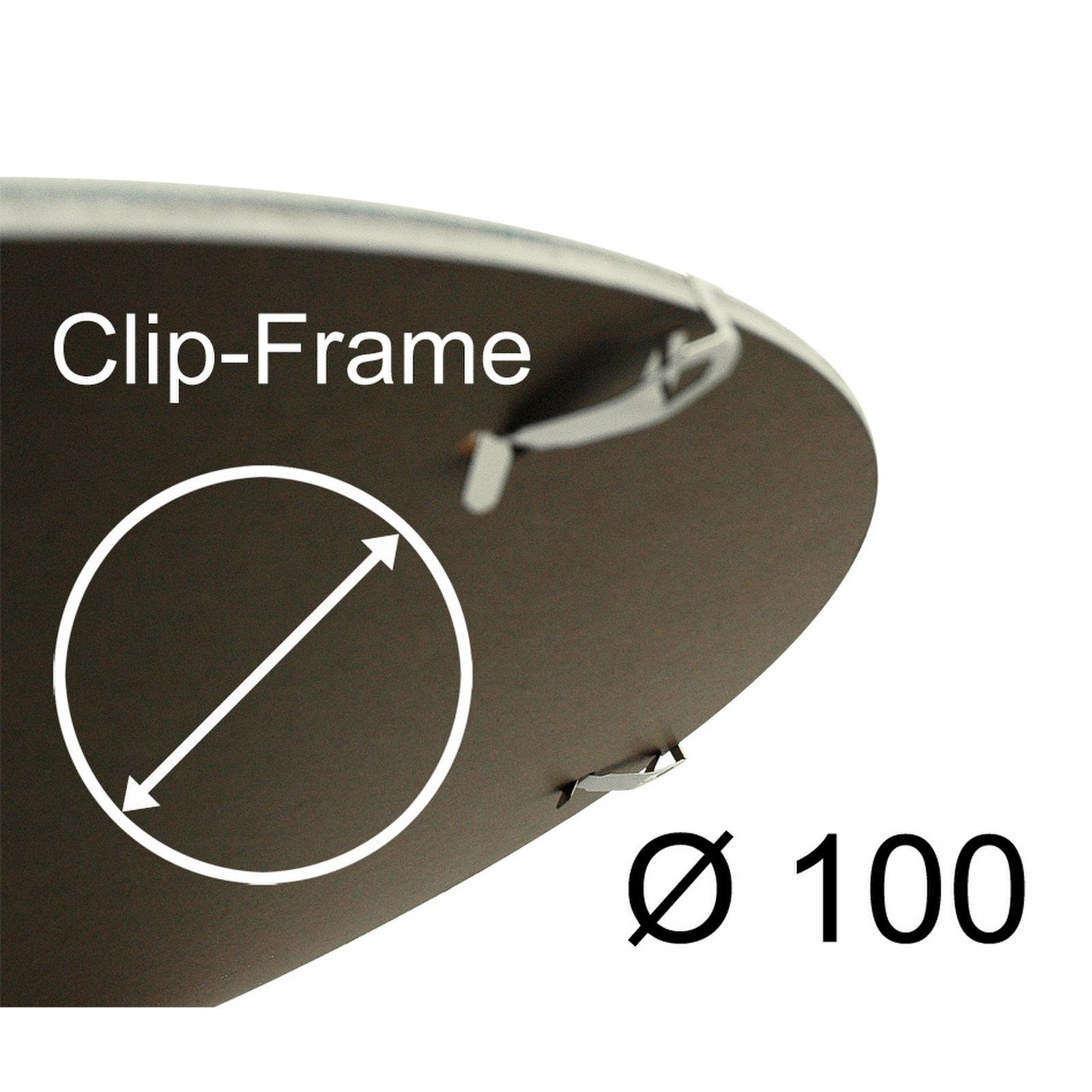 Marco Clip redondo, Vidrio transparente de acrilico   eBay