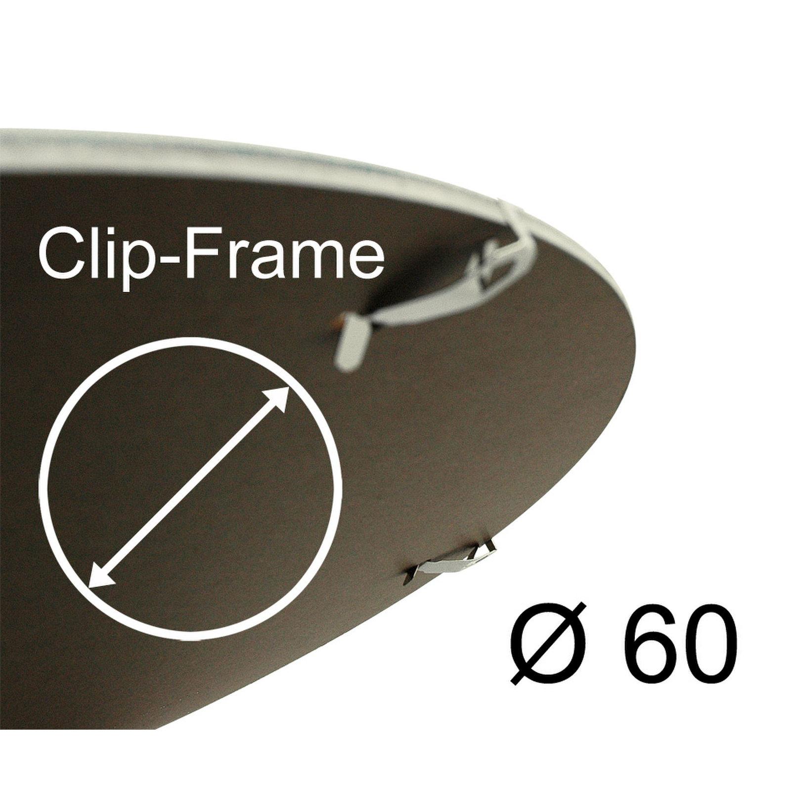 Sous verre clip cadre arrondi verre polystyrene ebay for Clip de verre cadres photo ikea