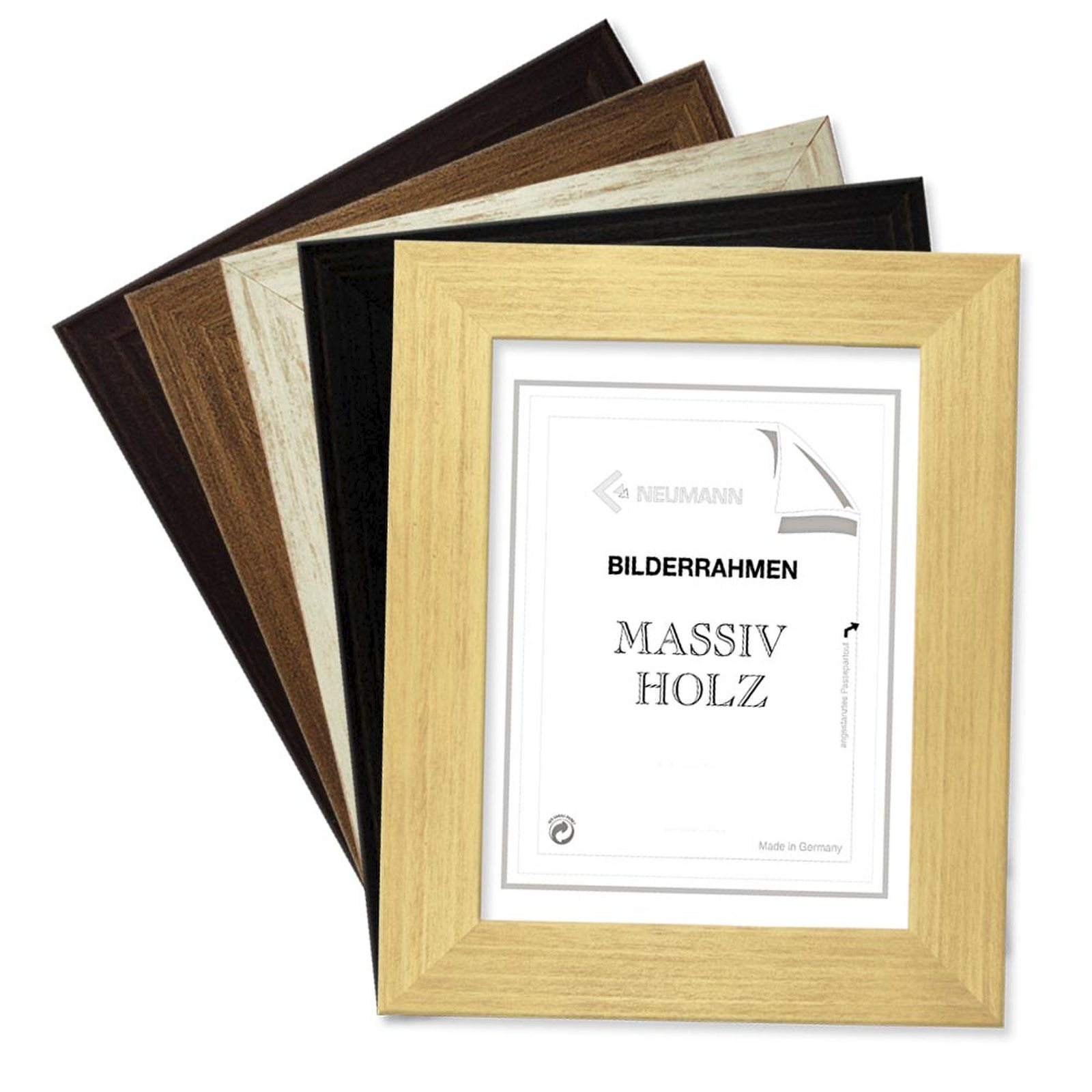 Holzrahmen COLORADO, in 5 matten Farben, Bilderrahmen Holz 40 mm | eBay
