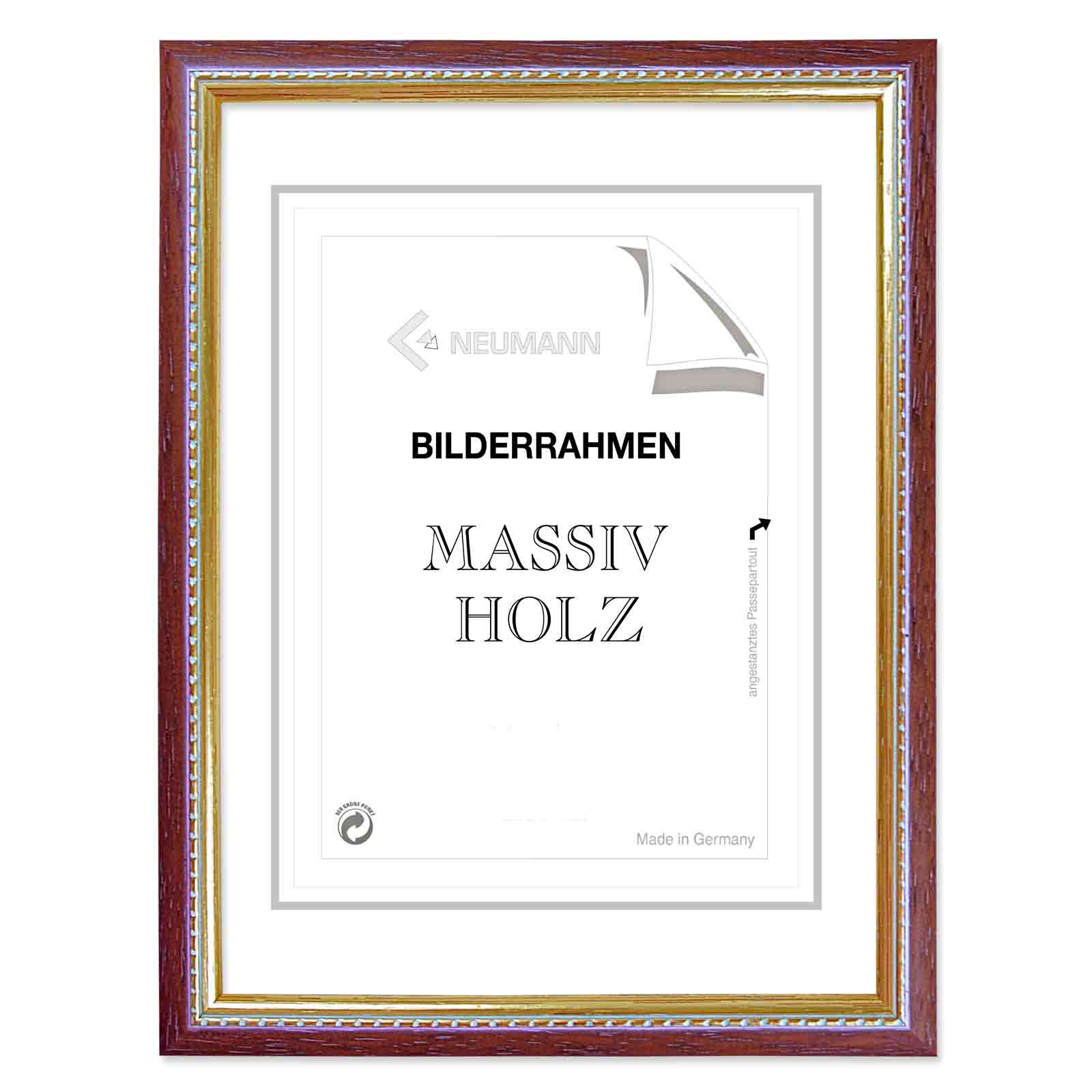 Wooden Frame Mailand Changing Frame in 5 Colors Dark Red 50x60 Cm | eBay