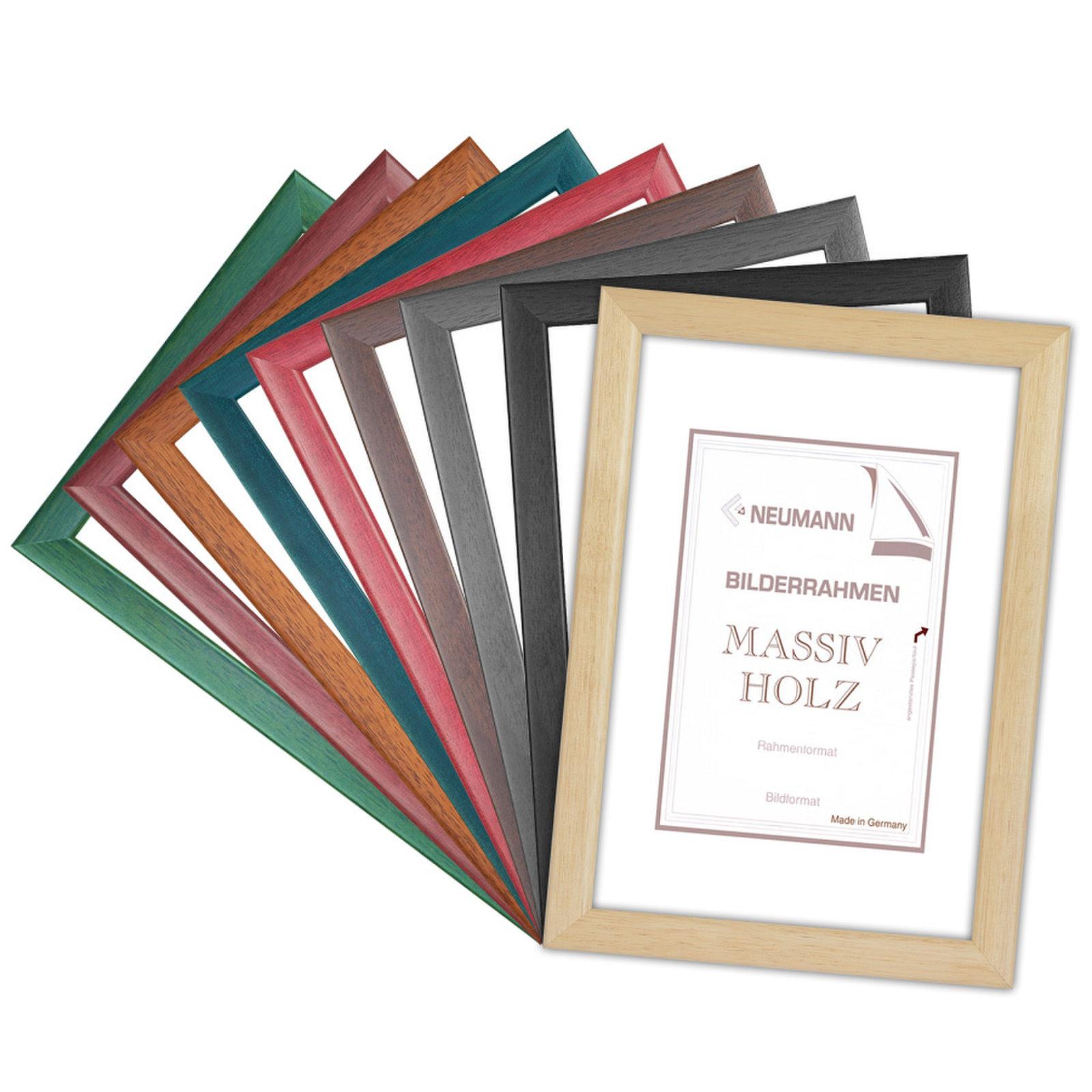 Holzrahmen ATLANTIC, in 8 matten Farben, Bilderrahmen holz 25 mm ...