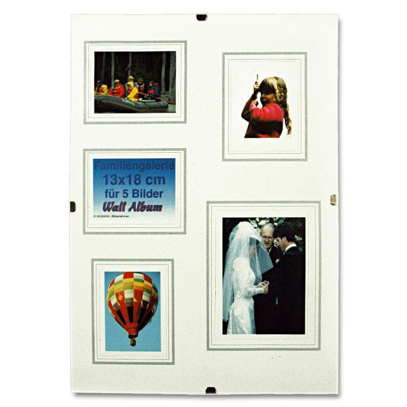 sin marco galería marco 13 x 18 cm, vidrio normal, paspartú con los ...