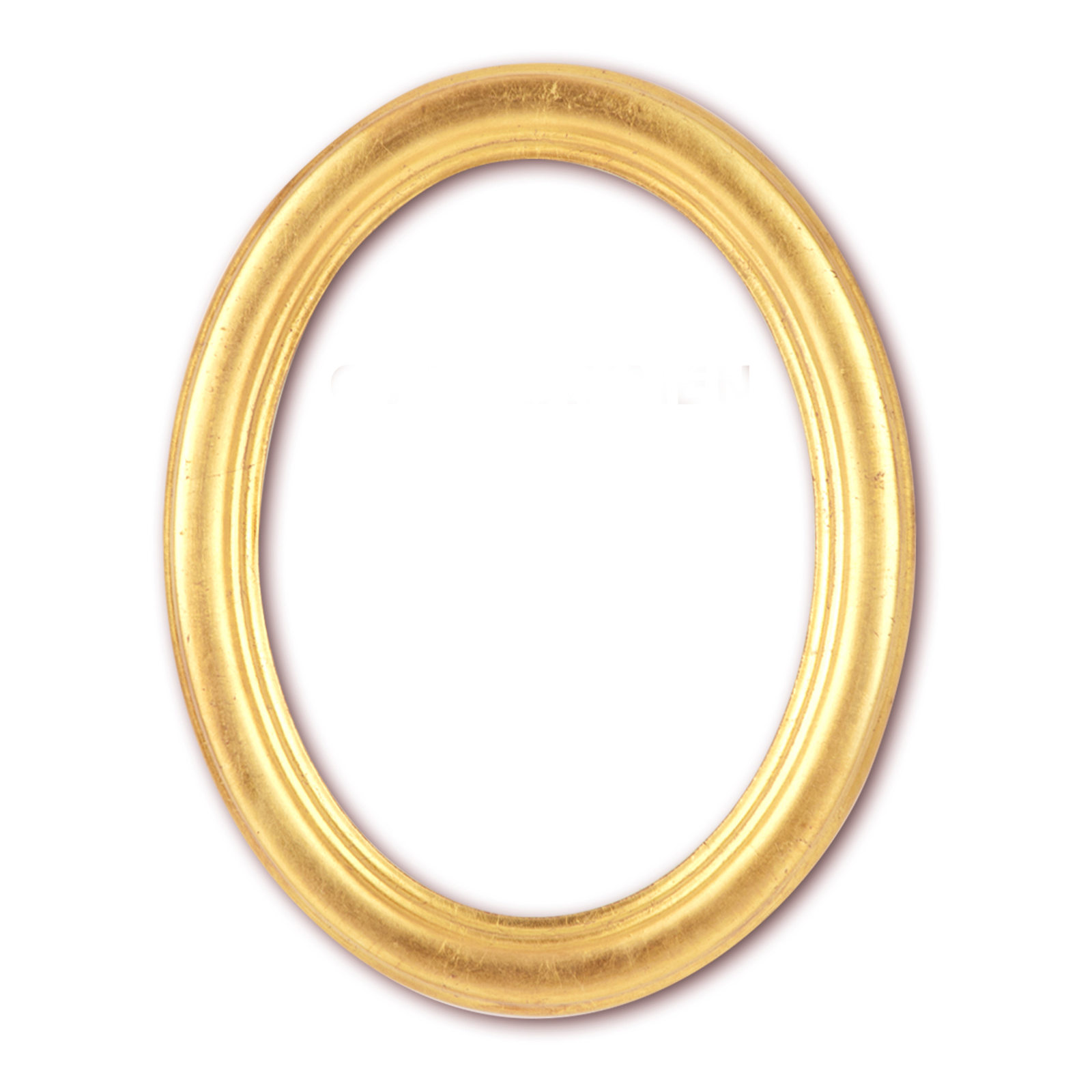 Oval Frame 9 X 13 Cm up to 50 X 70 Cm With Glass and Rear Panel Gold ...